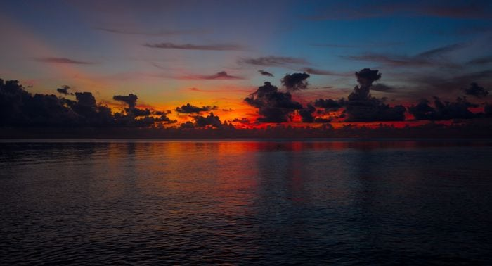 One pretty sunset in the lower Keys. Photo: Aaron Snell