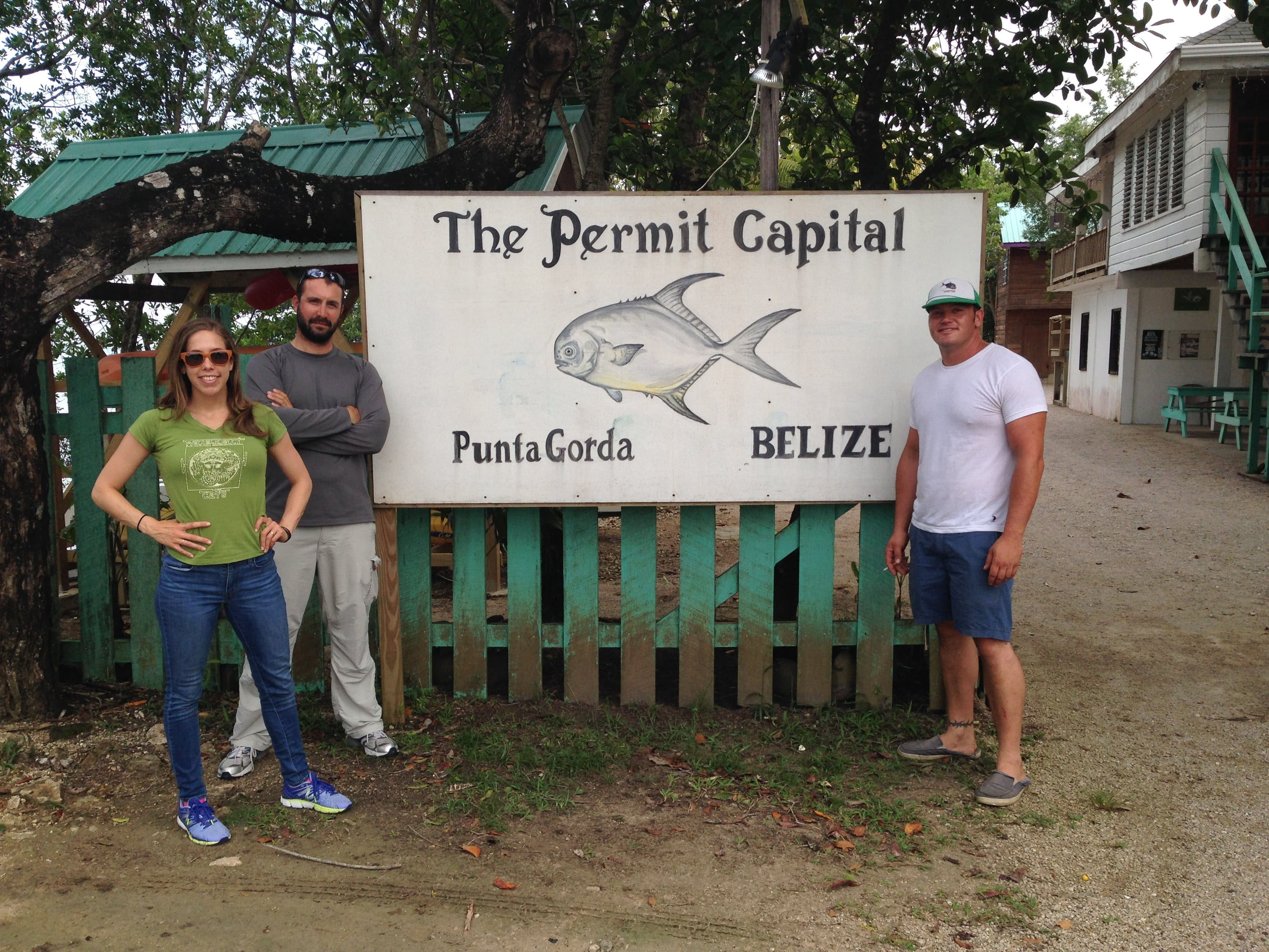 The beginning of Belize 2015. Photo Dennis Garbutt