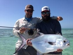 David 'Big P' Kolhage holds the fruits of some hard permit labor. Photo/guiding John O