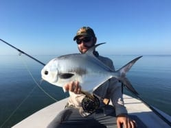 Finishing the day strong. A smaller permit towards the end of the day sealed a great Valentine