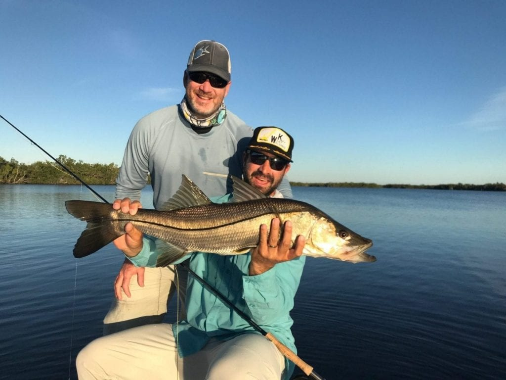 Nate and Chad with the product of some hard work and great fun. Photo/guiding Steve Huff