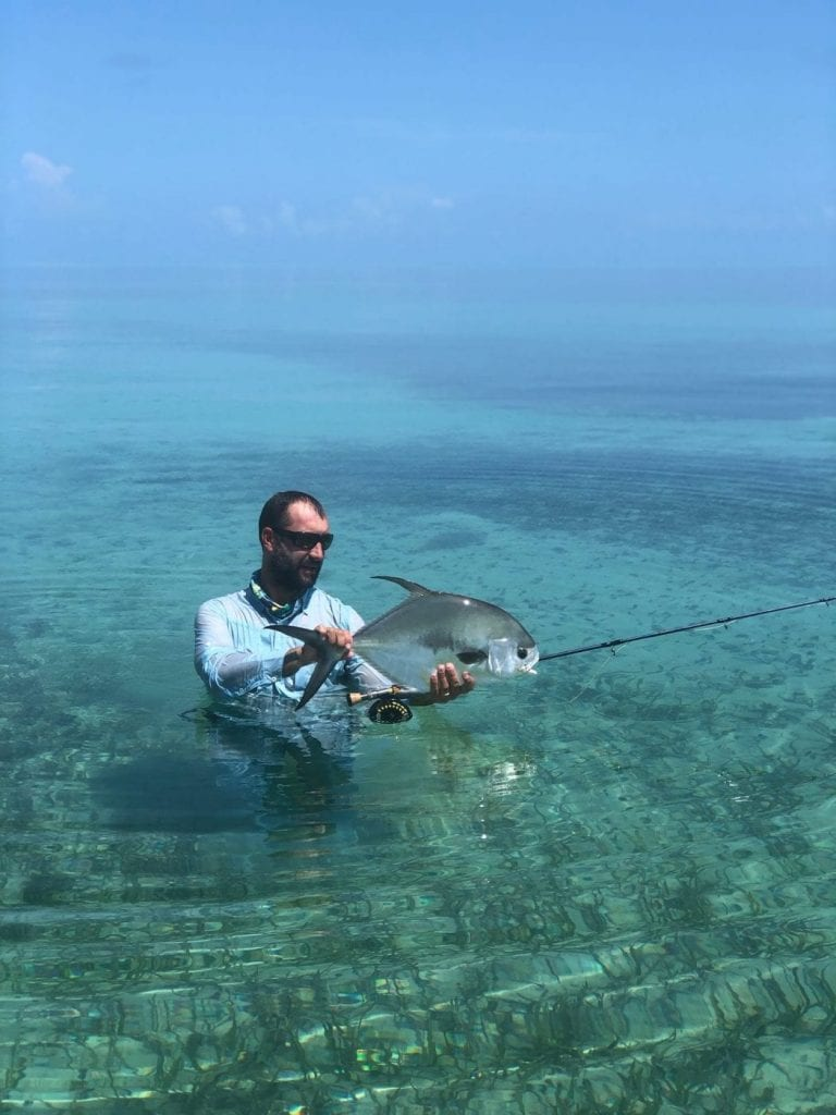 Nick Labadie captured a shot of a this fish caught in the summer calm, midday. Photo/guiding Nick Labadie