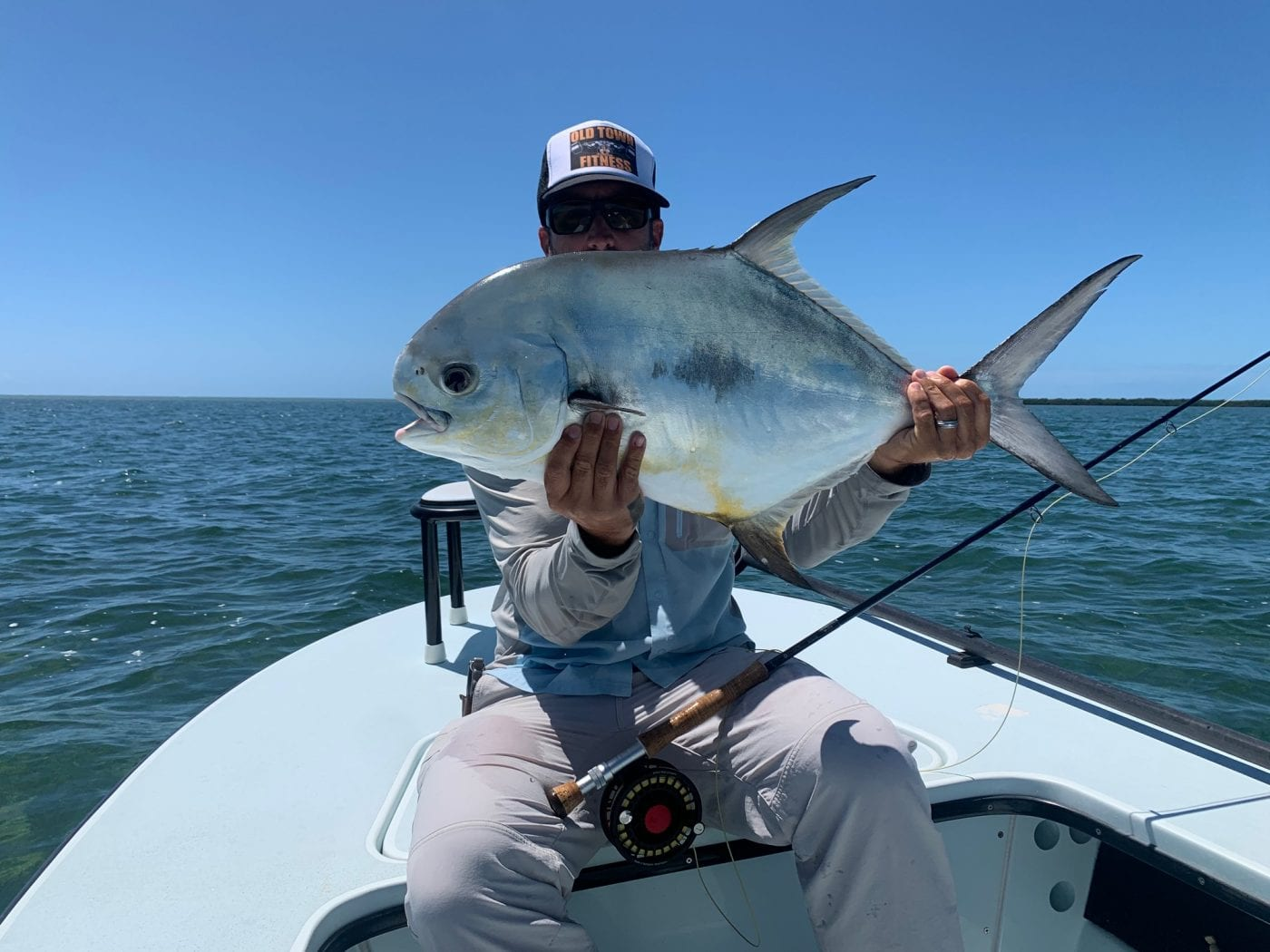 More permit from spring 2020. Photo/guiding Ian Slater