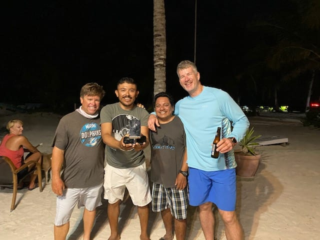 The Cornhole Tournament finals produced winners in Christian and Alonzo, and fantastic runners-up in Chad Huff and Doug Kilpatrick