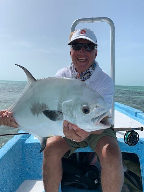 Dr. Lawson Stiff with a Mexican permit. Photo Nathaniel Linville, guiding Christian and Alonzo