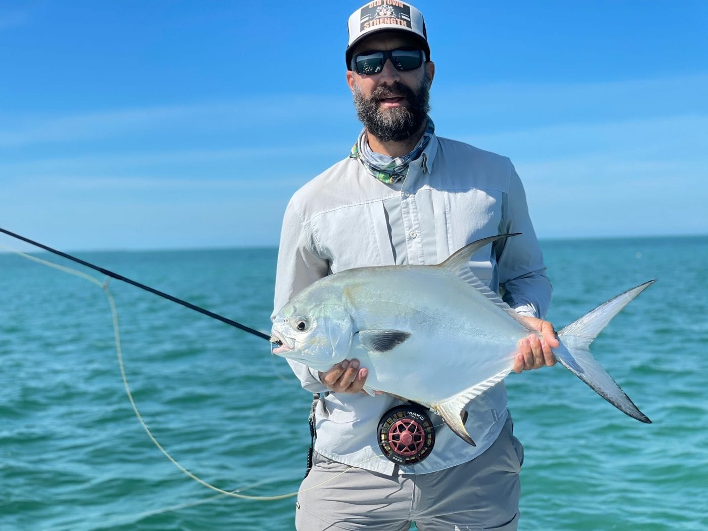 January permit at their least frustrating. Photo/guiding Ian Slater.